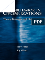 Human Resources - Misbehavior in Organizations - Y Vardi & E Weitz - 2004