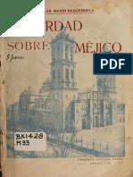 La Verdad Sobre Méjico-Negueruela 1928