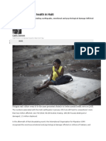 Examining Mental Health in Haiti