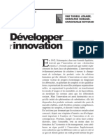 Développer innovation