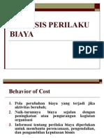 Cost Behavior Analysis (Accounting) 29 Mei 2019
