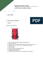 PPP - Tipos de PDP e Ficha de Análise