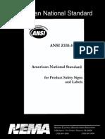 ANSI Z535.4