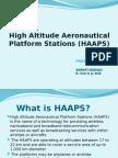 high altitude aeronautical platform systems (presentation)