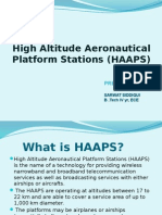 high altitude aeronautical platform systems (presentation)