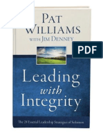 Excerpt - Leading With Integrity by Pat Williams and Jim Denney