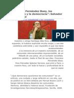Los Comunistas y La Democracia Fernandez Buey