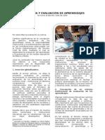 Autonomía y Evaluación de Aprendizajes