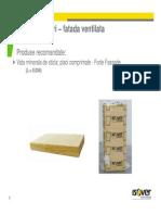 Sistem ISOVER Fatada Ventilata