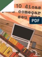 eBook TCCendo - 10 Dicas Para Começar Seu TCC