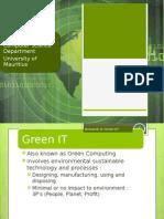 Uom Green ICT Presentation