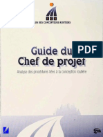 Guide Du Chef de Projet_Conception Routiere