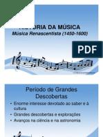 Periodo Renascentista da Música