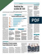 Portafolio - 29-05-2015 - En Junio Se Debatirán Las Metas de Reducción de GEI