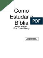 Livro-Online-manual Do Aluno Como Estudar a Biblia