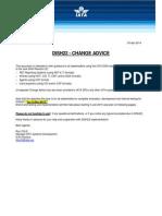 Dish22 Change Advice 03apr14 IATA