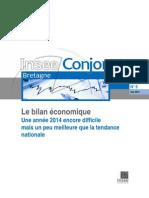 Bretagne. Le bilan de l'année économique 2014