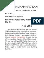 Sadiya Muhammad Kani.........Sudaness Assignment........