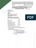 ejemplo de informe de analisis de agua