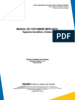 Manual de Costumbre Mercantil en Cartagena