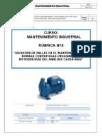 Rubrica 3 de Mtto Industrial