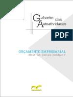 Gabarito Ativid Orçamento Empresarial