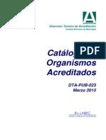Dta-pub-023 v13 Catalogo Acreditacion Mar-2015