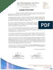Proceso electoral de Arequipa y Callao