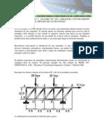 Ejemplo 2 Capitulo 3 Solucion Armadura Metodo de Las Seccion