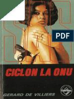 019. Gerard de Villiers SAS - Ciclon La ONU v.1.0