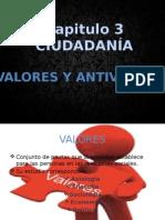 Liderazgo Valores y Antivalores