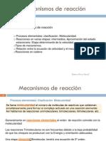 Mecanismos de Reaccion