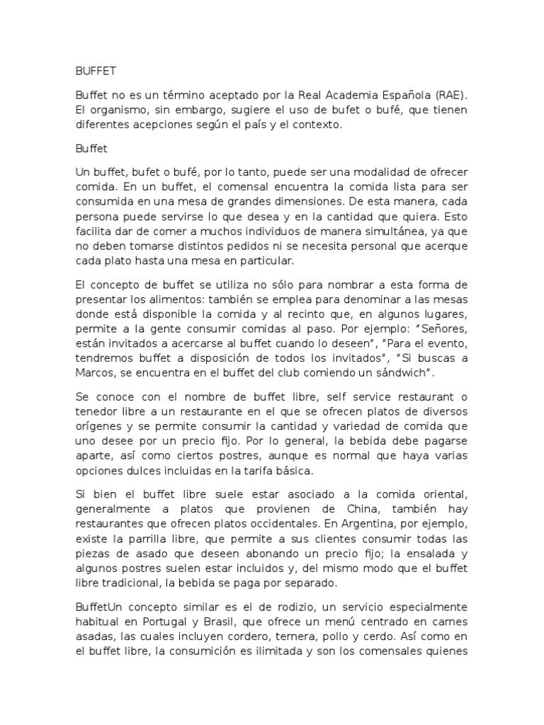 Asombroso Precios De Buffet Cocina Del País Fotos - Ideas Del ...