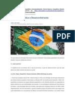 Brasil Geopolítica e Desenvolvimento