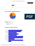 student survey - transition to middle school - google forms