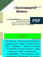 Indian Contract Act-John.V.Sugumaran