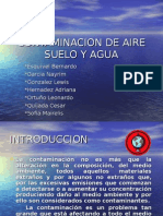 Pr Contaminacion Agua Aire y Tierra
