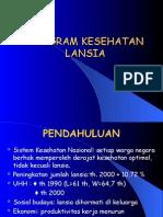 Program Lansia