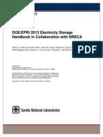 Electricity storage handbook