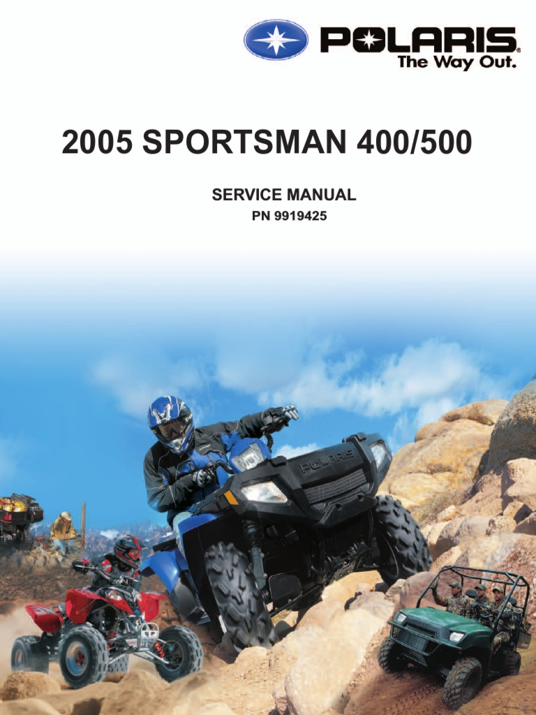 2005 sportsman 400_500 service manual.pdf | Vehicle Technology | Mechanical  Engineering