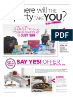 Say Yes flyer - US