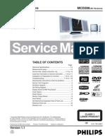 Diagrama de Modular Philips MCD288