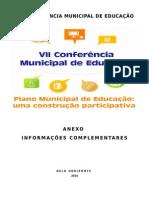 VII Conferência Muncipal de Educação
