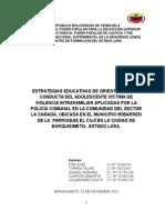 Proyecto Comunitario La Cañada