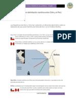 Controversia en Delimitación Marítima Entre Chile y El Perú