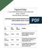 Programas de Trabajo de PIDESC (1)