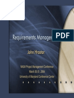 NASA Requirements Management
