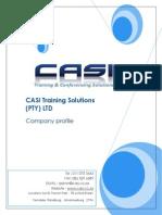 CASI Training Company Profile