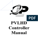 Electra Vitoria-pvlhd Controller Manual-part1