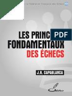 Les Principes Fondamentaux Des Echecs CAPABLANCA